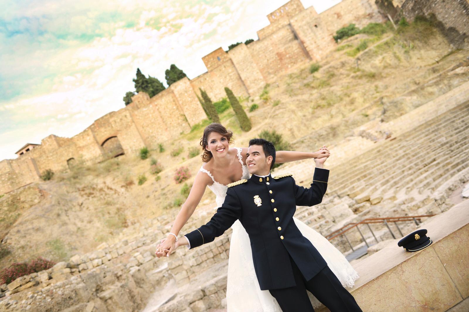 alcazaba malaga fotografos boda