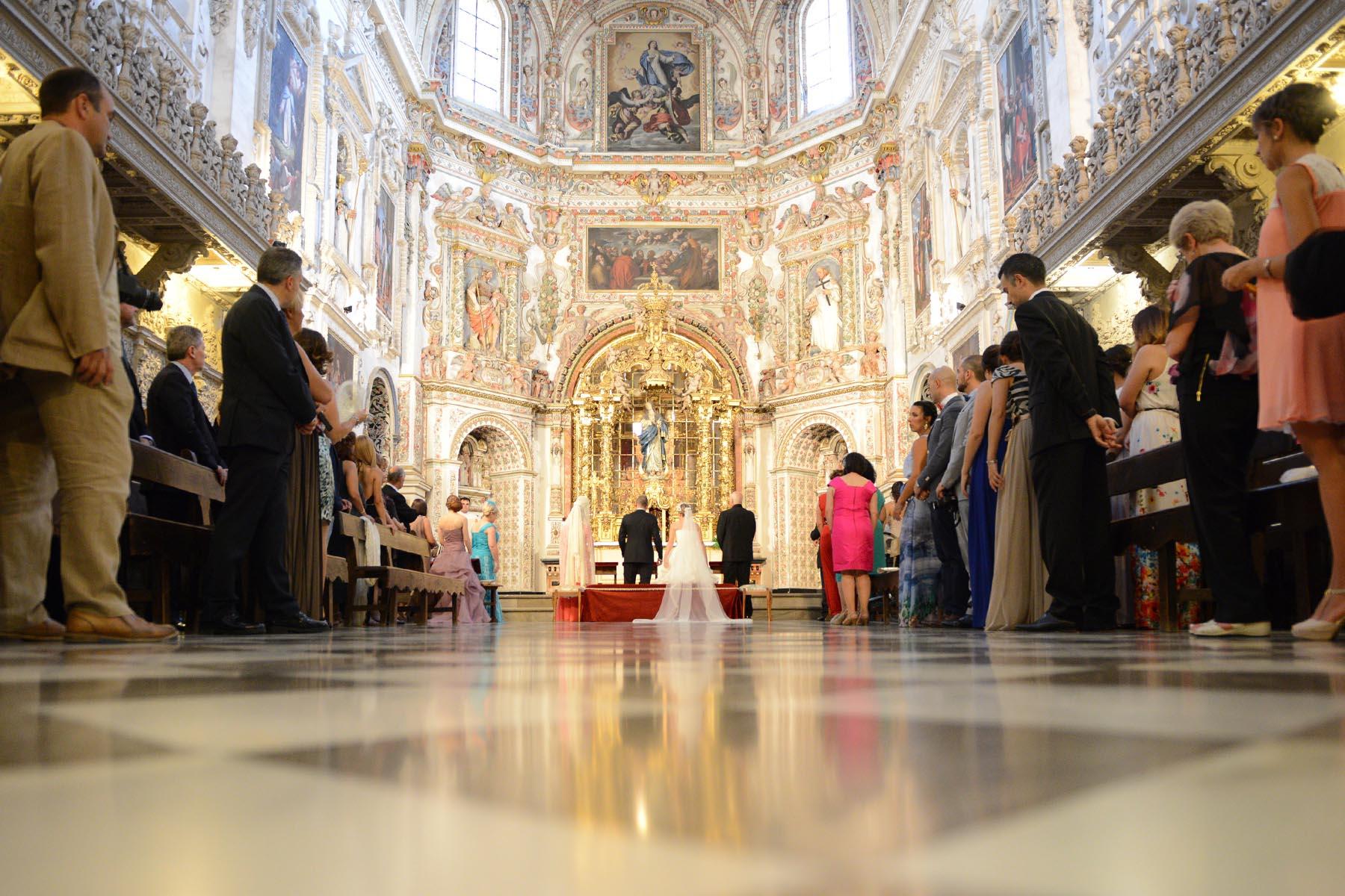 granada convento la cartuja ceremonia boda