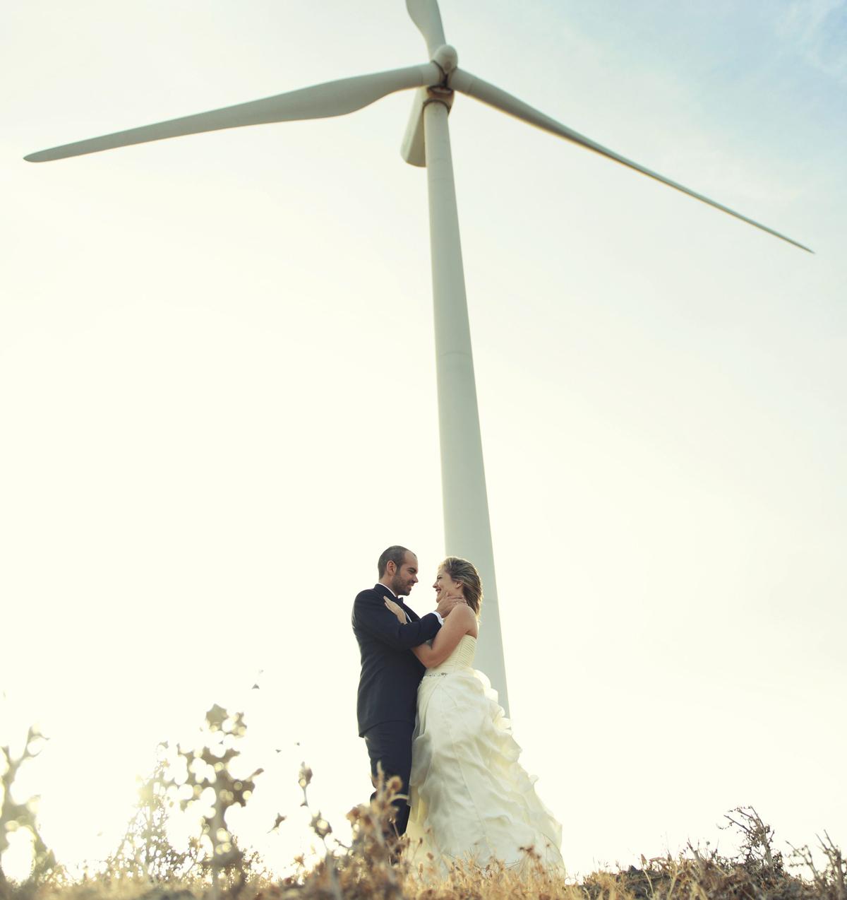 fotos novios molinos de viento
