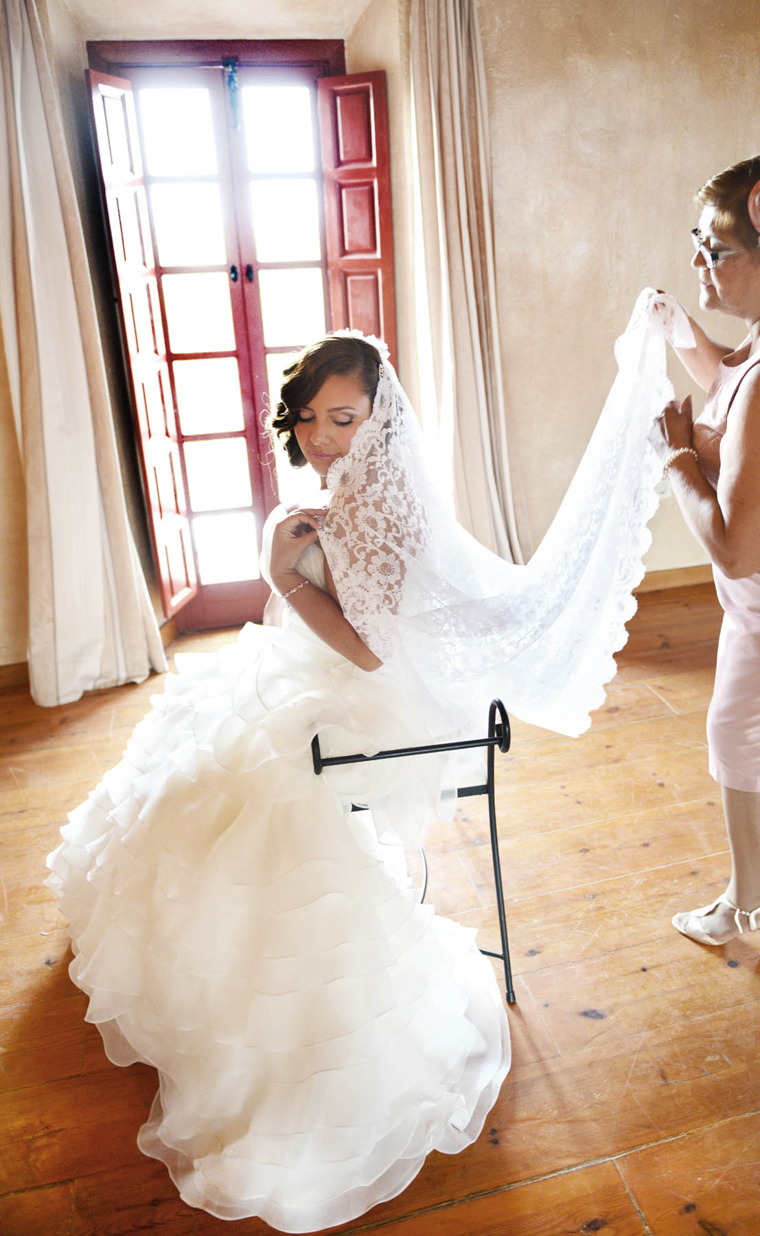 fotos trajes novias pizarra