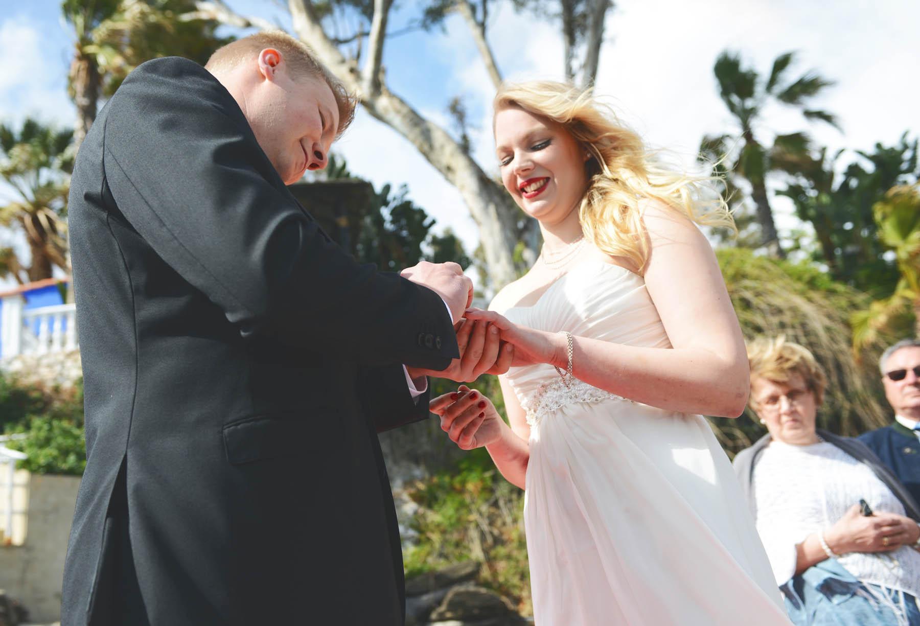 bodas en la playa estepona