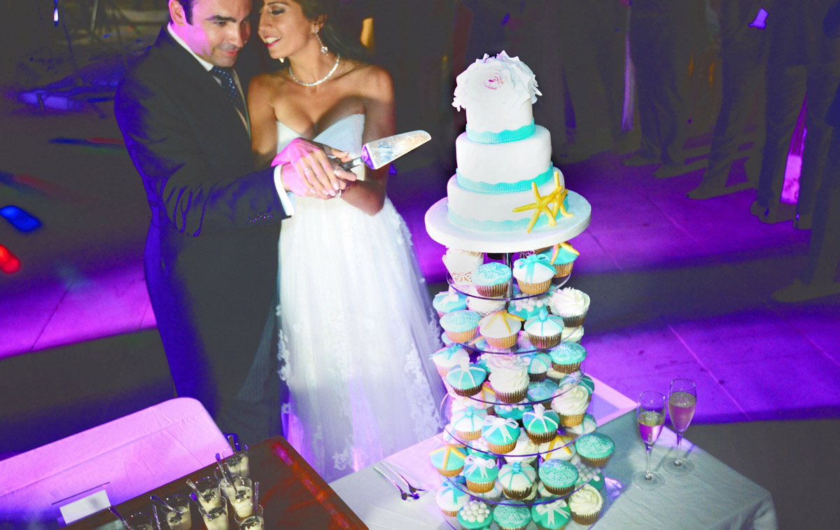 tarta de boda marbella