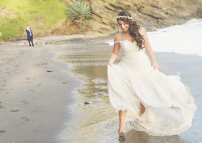 reportaje boda playa viborilla