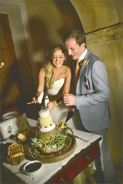 tarta de boda original
