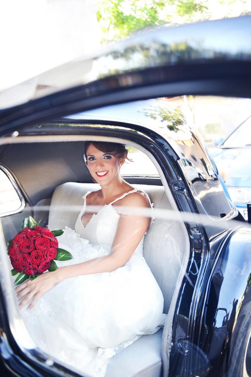 llegada novia fotografos malaga