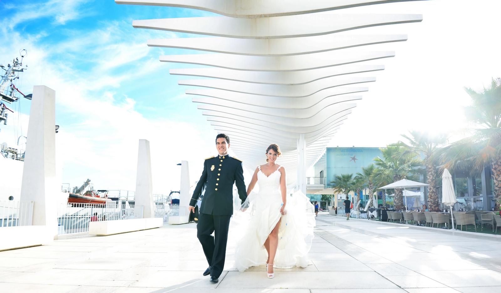 muelle uno fotos malaga bodas