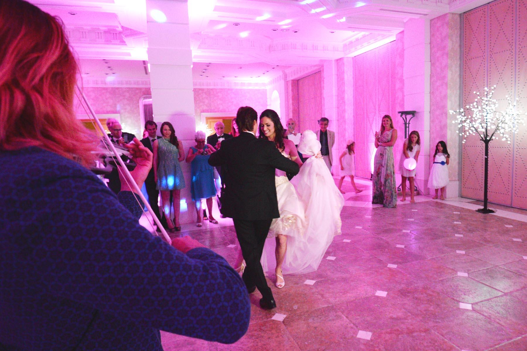 Villa Padierna Palace baile de boda