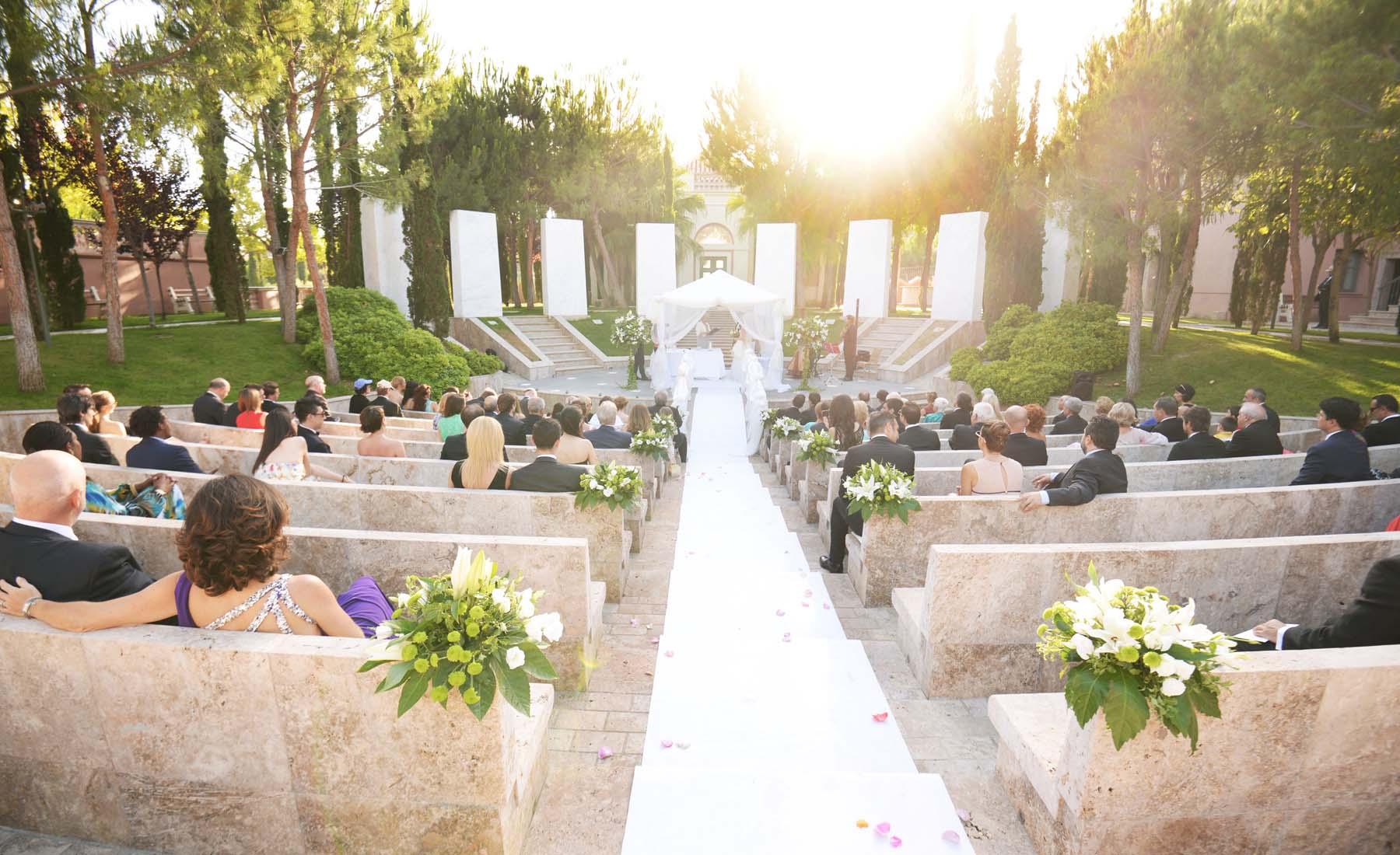 Villa Padierna Palace fotos de boda