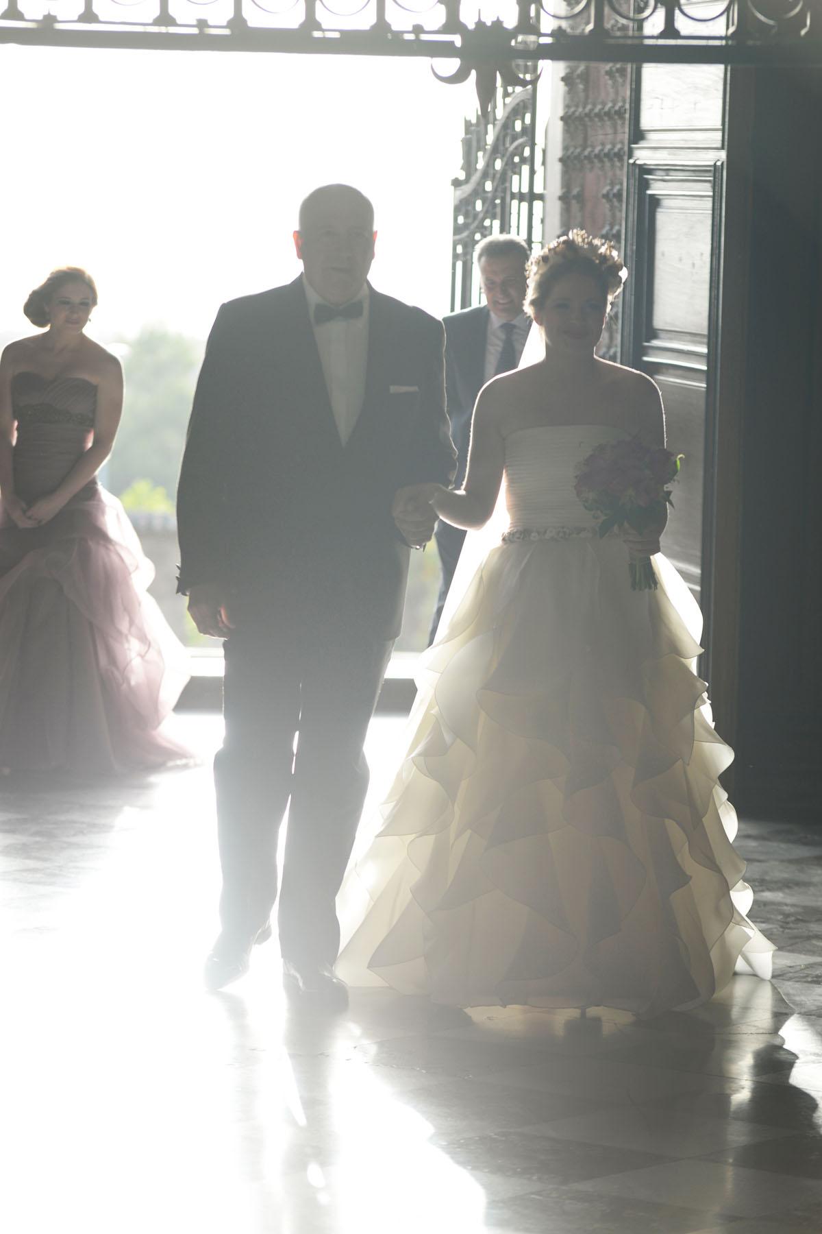llegada novia granada convento la cartuja