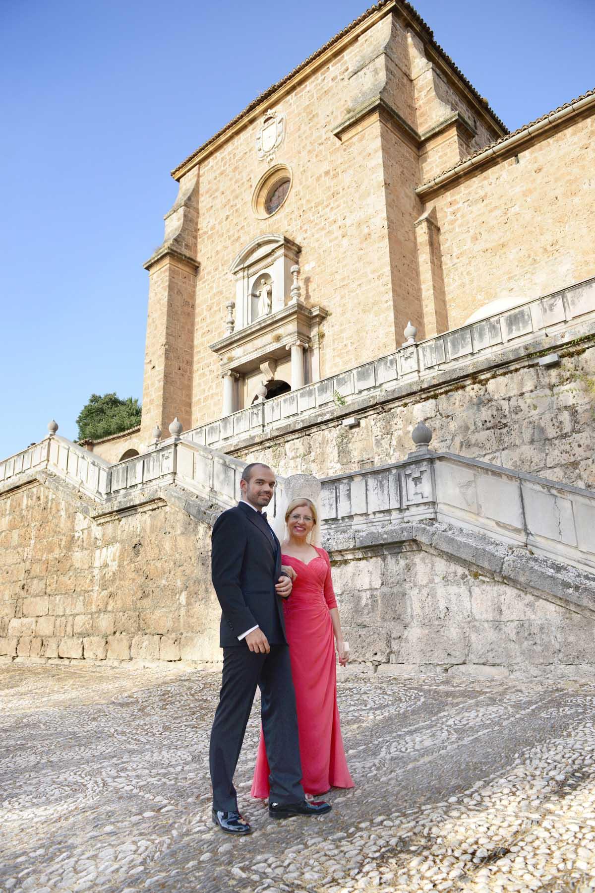 reportaje de boda convento la cartuja granada