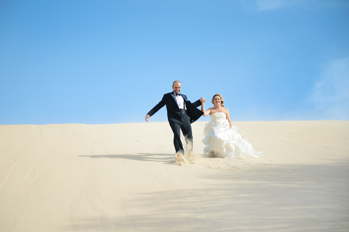 fotos novios dunas tarifa