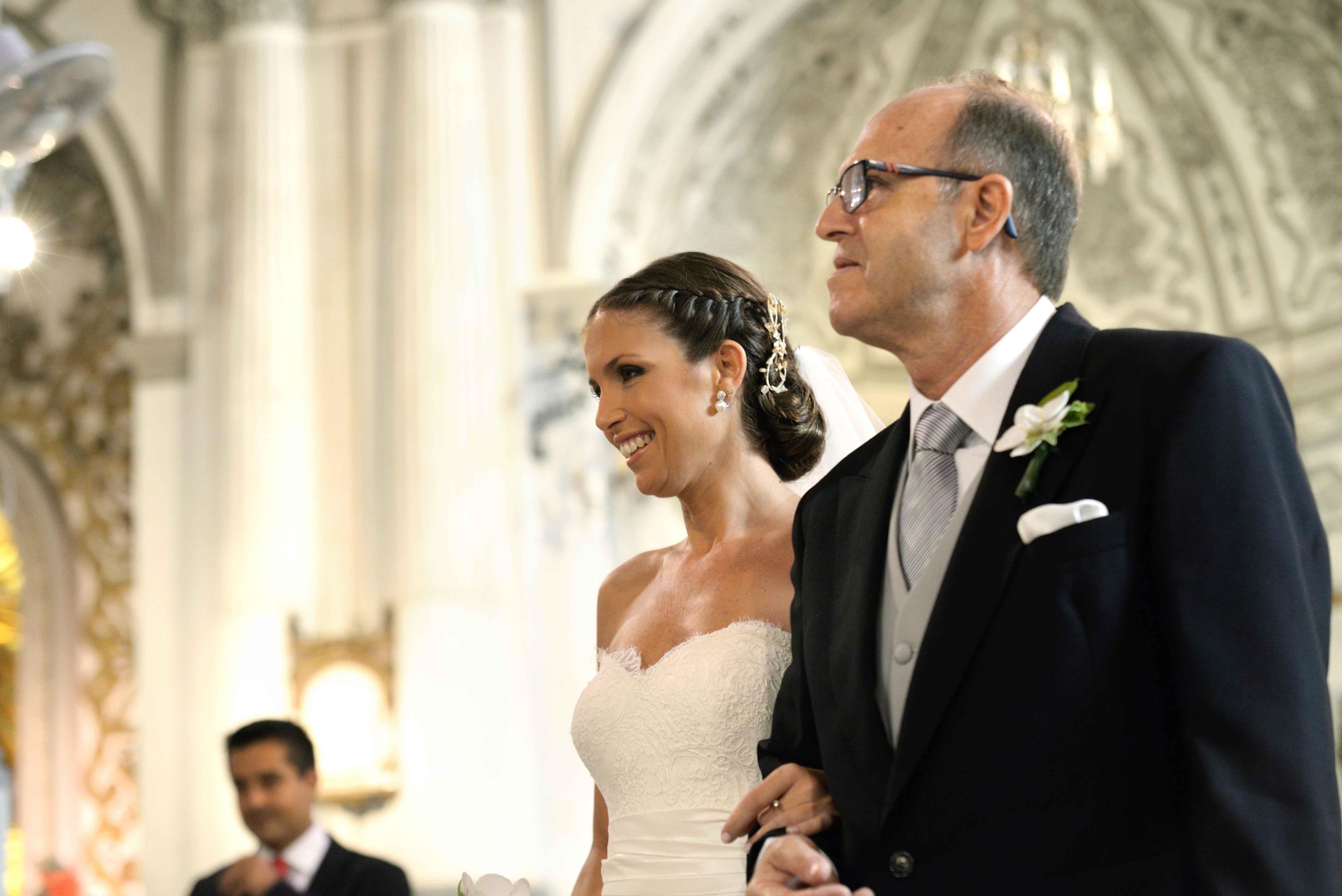 Iglesia de Santiago Apostol reportajes boda