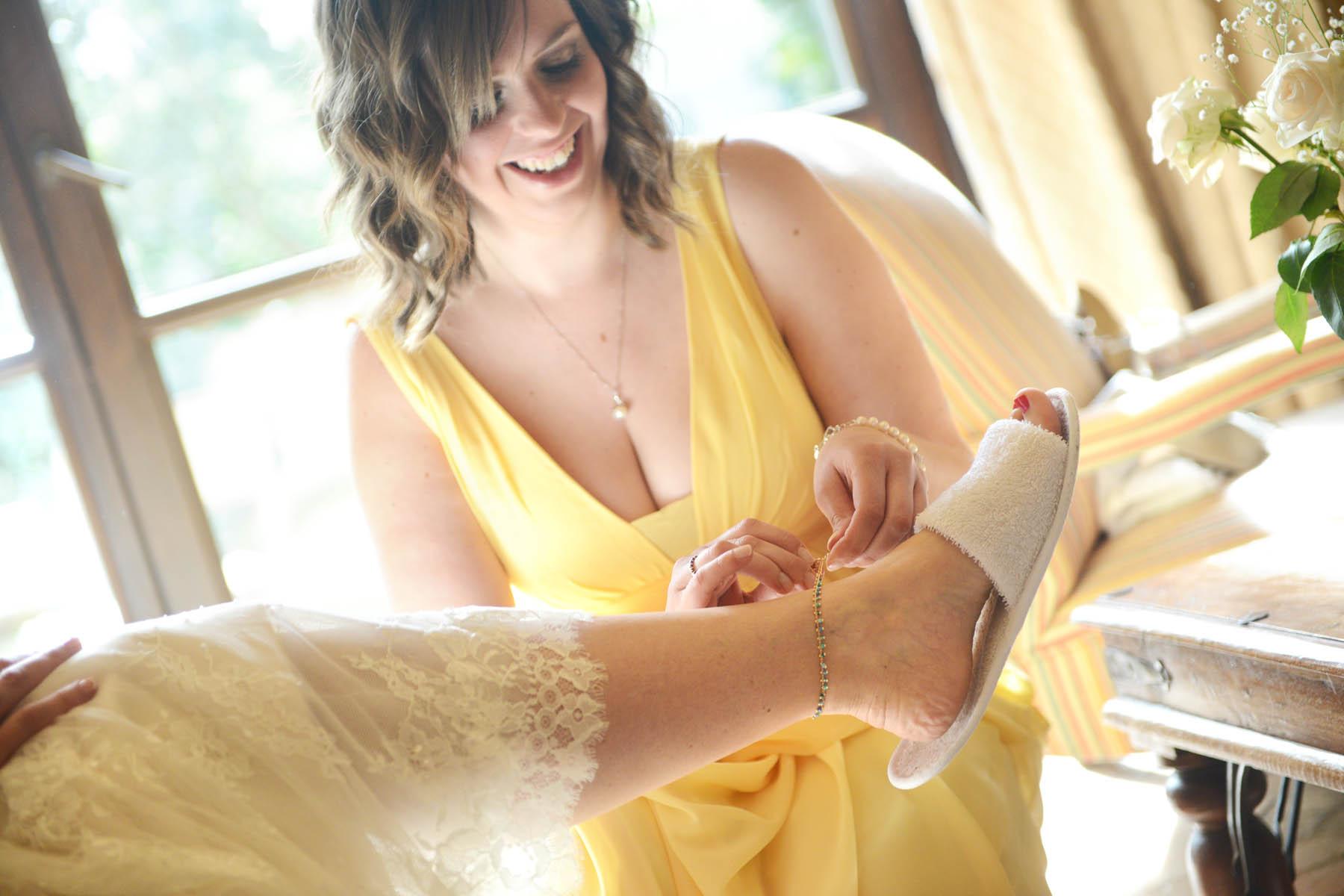 preparacion de la novia el monastario hotel
