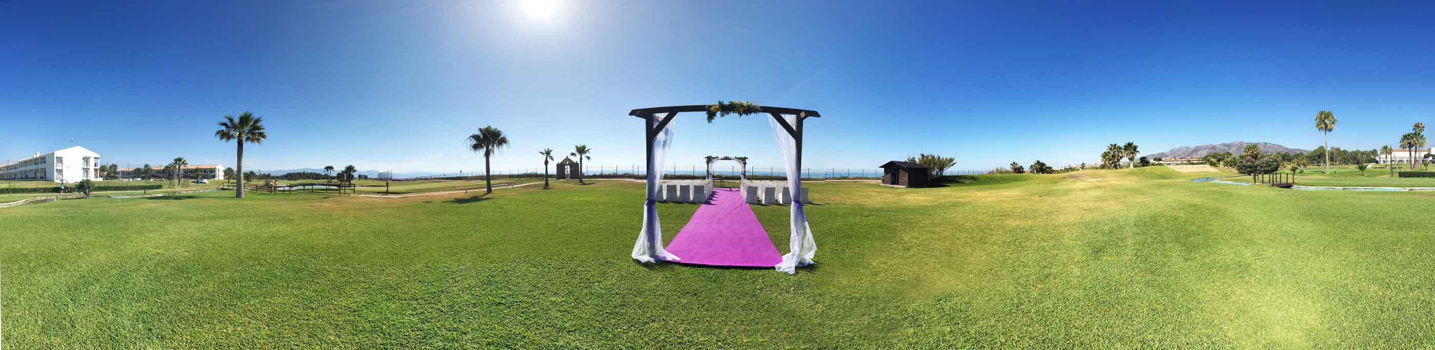 fotos bodas parador golf malaga