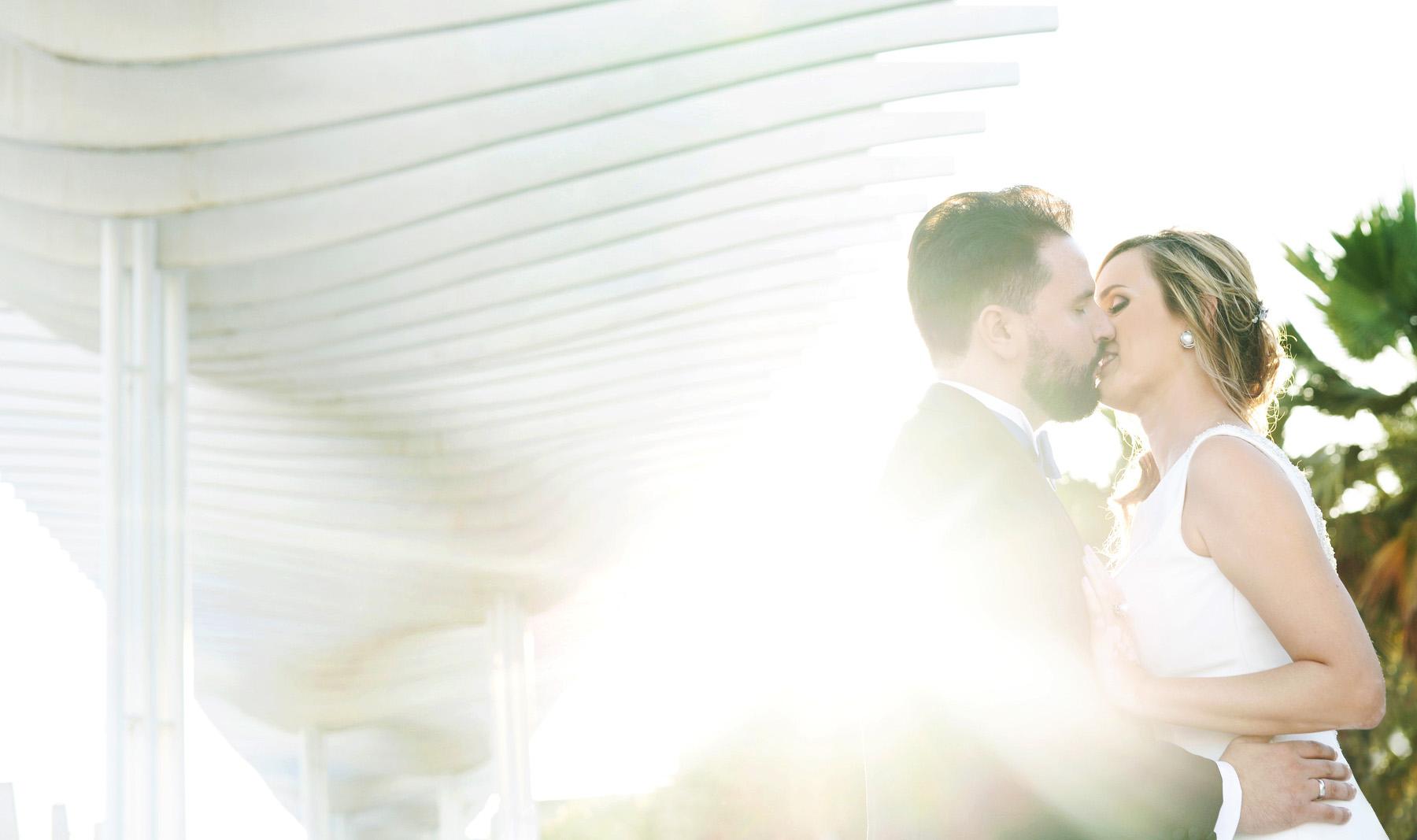 reportaje de bodas muelle uno