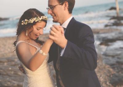 fotos de boda playa mijas