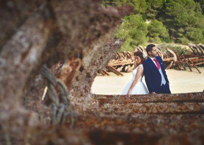 fotos de bodas playa bolonia